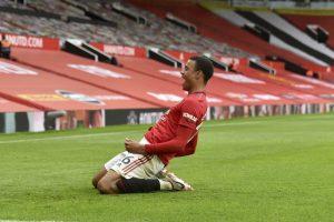 Hasil Liga Inggris Manchester United vs Bournemouth : Setan Merah Masuk 4 Besar