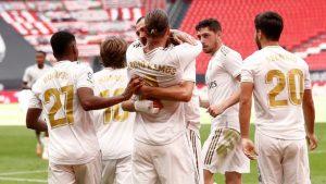 Hasil Athletic Bilbao vs Real Madrid : Lagi-Lagi Penalti Ramos Menangkan Los Blancos