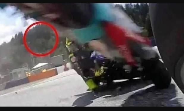 Benarkah Ada Penampakan Simoncelli Ketika MotoGP Austria 2020, Lihat Foto Ini