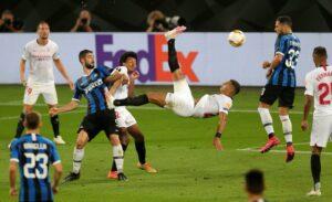Hasil Final Liga Europa Sevilla vs Inter Milan Skor Akhir 3-2 : Sevilla Raih Gelar Ke-6 Kalinya