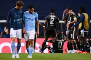 Hasil Liga Champions Manchester City vs Lyon : Mengejutkan, Lyon Kandaskan Man City Skor 3-1