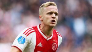 Donny van de Beek Menyetujui Kontrak Lima Tahun Bersama Manchester United