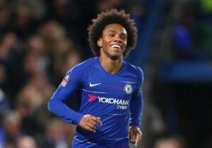 Bursa Transfer : Willian Menyetujui Kontrak Tiga Tahun Di Arsenal, Aubameyang Segera Perpanjang Kontrak