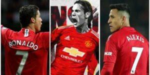 Edinson Cavani Kenakan Jersey Nomor 7 Di Manchester United , Pellestri Masuk Skuad Inti MU