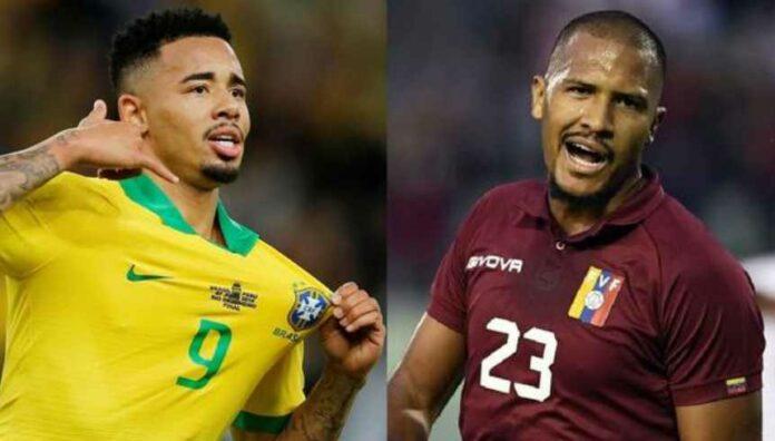 Brasil vs Venezuela Pada Matchday 3 Kualifikasi Piala Dunia 2022 Zona Amerika Selatan