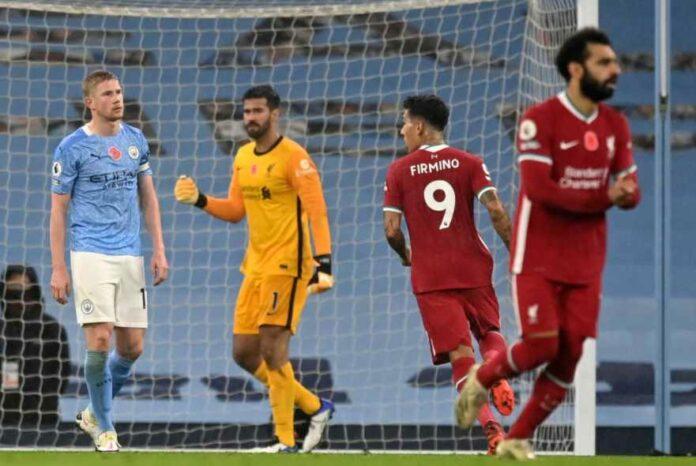 De Bruyne Gagal Penalti, The Citizen Dipaksa Bermain Imbang 1-1 Oleh The Reds