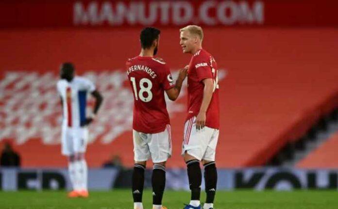 Donny van de Beek Jadi Partner Terbaik Bruno Fernandes di Man United