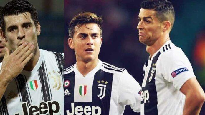 Dybala, Alvaro Morata, dan Cristiano Ronaldo