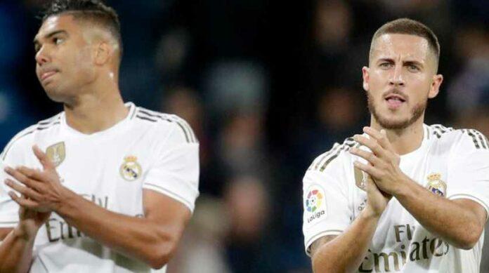 Eden Hazard dan Casemiro Dikabarkan Positif COVID-19