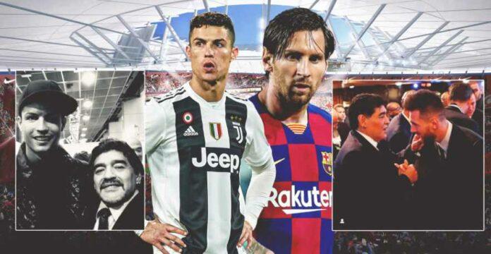 Lionel Messi dan Cristiano Ronaldo Kompak Ucap 1 Kata dalam Pesan Duka
