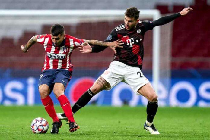 Atletico Madrid Vs Bayern Munich