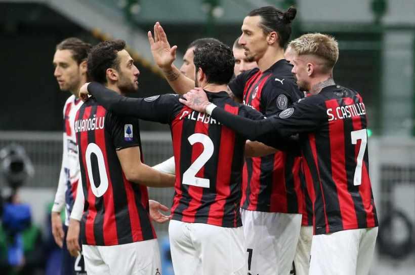 Statistik Dan Prediksi Skor Ac Milan Vs Inter Milan 21 Februari 2021 Sepakbola Id