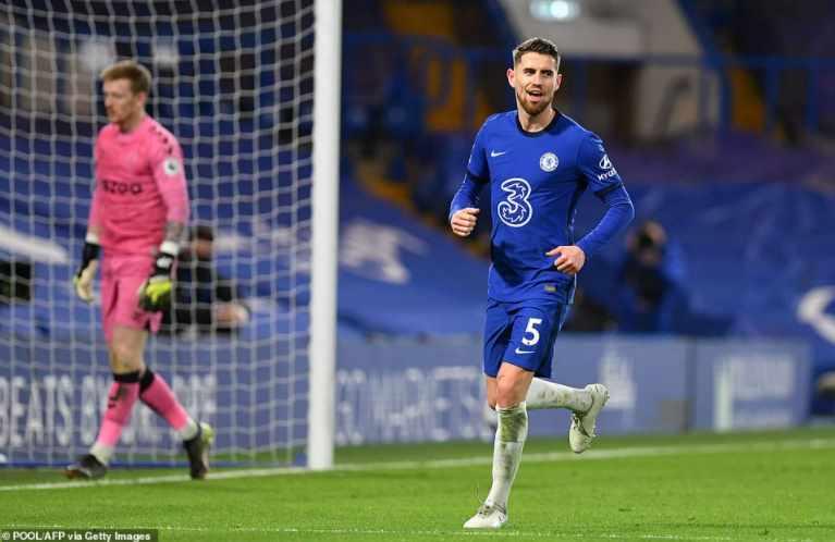Jorginho kini menjadi top skor sementara The Blues pada ajang Premier  League | Sepakbola.id