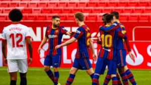 Prediksi Bola PSG vs Barcelona 11 Maret 2021